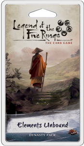 Legend of the Five Rings:  The Card Game -  Elements Unbound Dynasty Pack